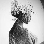 Fantastic pencil portraits of Mother Nature