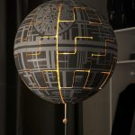 A German Girl Turned White IKEA Lamp Into A Death Star