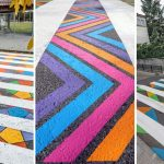 Bulgarian artist transforms boring zebra crossings into street art