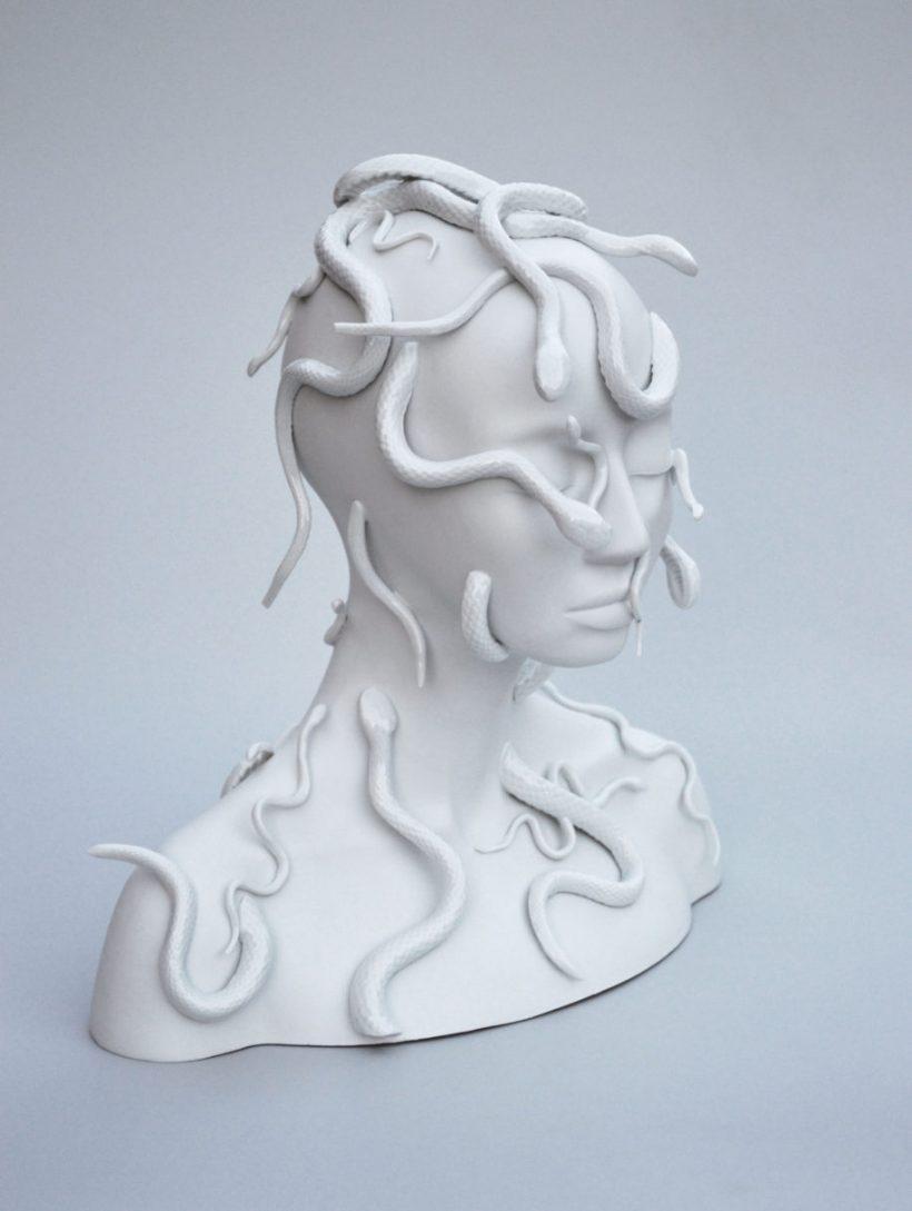 Modern porcelain sculpture art by French artist Juliette Clovis ...