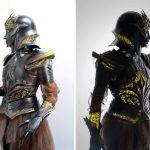 3D Printed Fantasy Armor