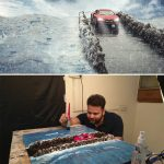 Miniature photography behind the scenes