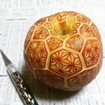 The art of fruit and vegetable carving is elevated to a new realm in the hands of food artist Gaku