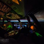Photographer's best office is Boeing 747's cockpit