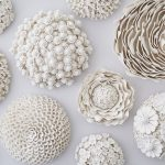 Ornate porcelain art inspired by flowers