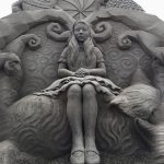 Sand sculptures by Japanese sand artist Toshihiko Hosaka
