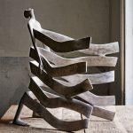 Modern bronze sculptures by Spanish artist Isabel Miramontes