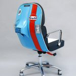 Vintage Vespa Scooter Chair