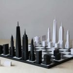 Skyline Chess of London and New York