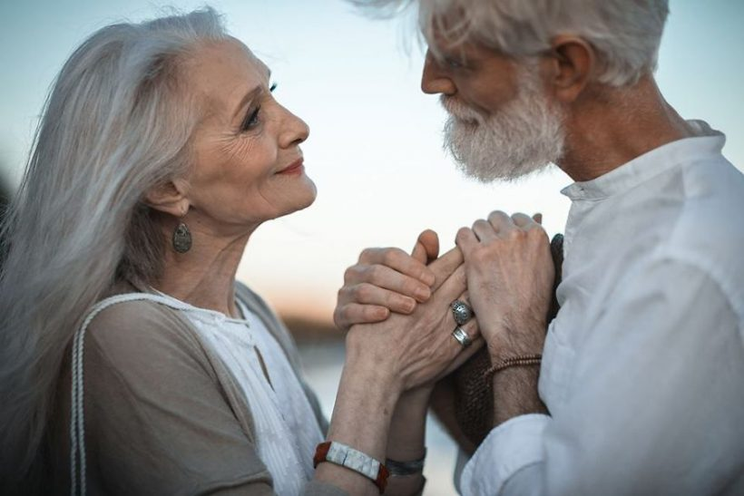 Russian photographer irina nedyalkova captures wonderful photos of elderly couple carl and ellie fredricksen whose love story shows us that love is