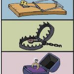 Funny comics with dark endings