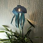 Original aquatic lampshades taking inspiration from the beauty of the sea