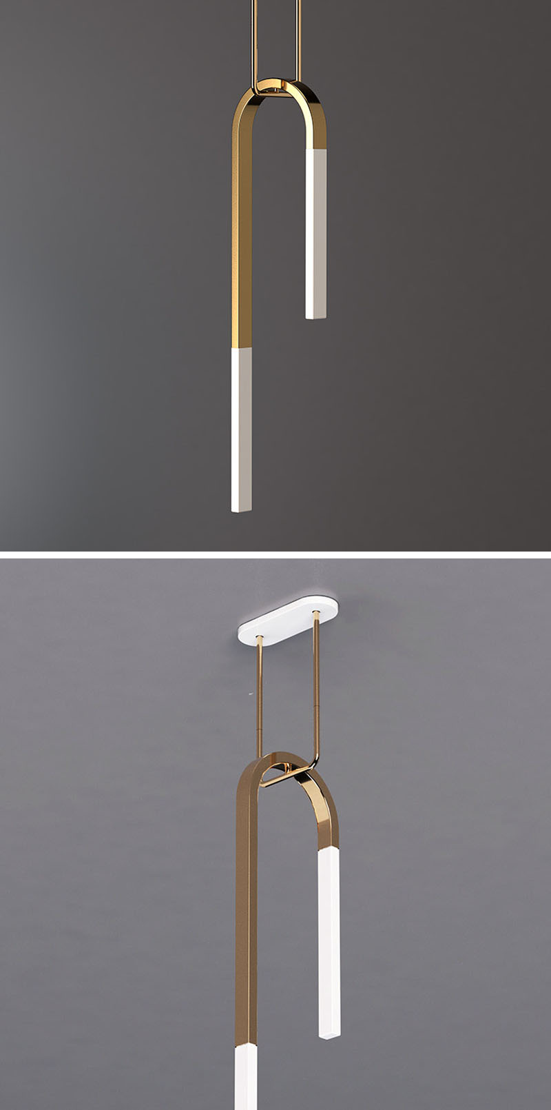 minimalist lighting. The Minimalist Lighting Collection Has Translucent Porcelain Arms That Are Supported By Suspended Trapeze.