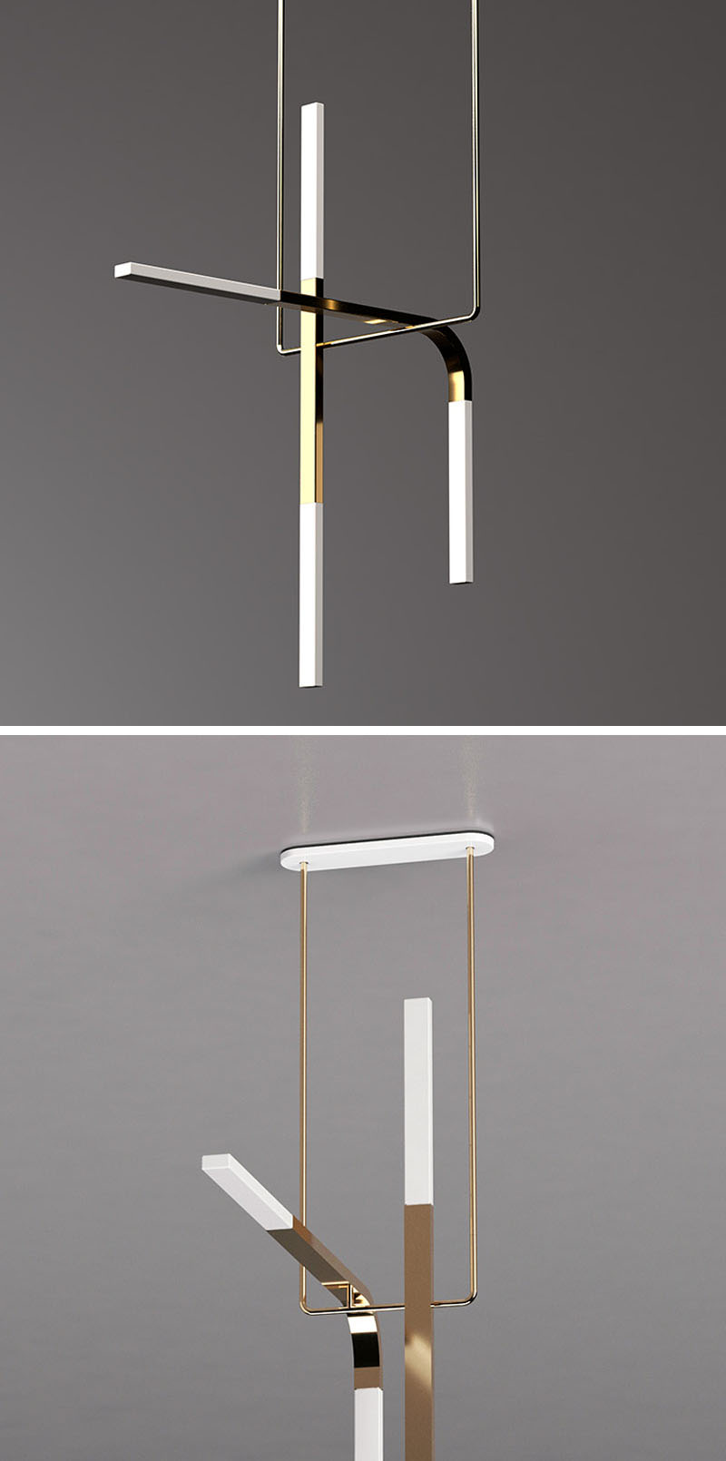 Minimalist Led Lighting Design Inspired By Acrobats