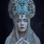 Pagan-themed portraits showing the beauty of Slavic culture