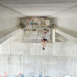 Concept studio under a bridge