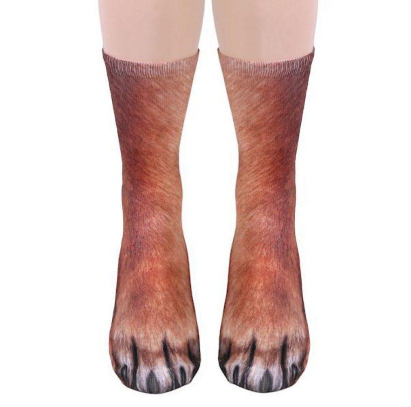 Weird Fuzzy Socks 3