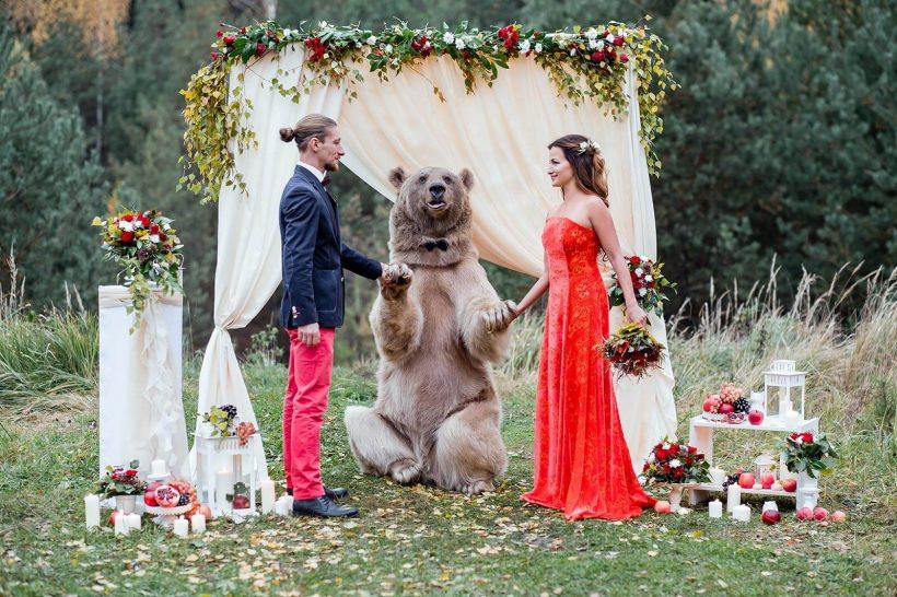 Fairytalelike Portraits Captured By Russian Photographer Olga - Photographer captures fairytale like portraits women animals