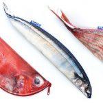 Fish zip bags designed by Keiko Otsuhata
