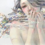 Delicately beautiful paintings by Japanese artist
