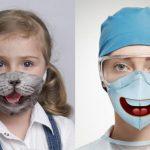 Funny surgical mask design