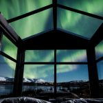 The panorama glass lodge in Iceland allows you to sleep under the northern lights