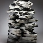 Contemporary ceramic art by South Korean ceramicist Haejin Lee